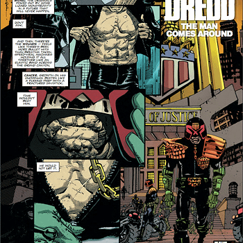 Preview Scalpeds RM Guera Drawing Judge Dredd &#8211 With Soundtrack by Johnny Cash
