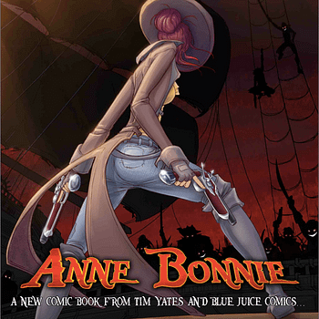 From Con Sketch To Full Comic &#8211 Tim Yates Launches Pirate Adventure Anne Bonnie