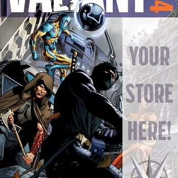Valiant Offers Customizable Covers To Retailers For FCBD 2014 Armor Hunters Special