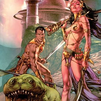 Dynamite To Publish Warlord Of Mars #100