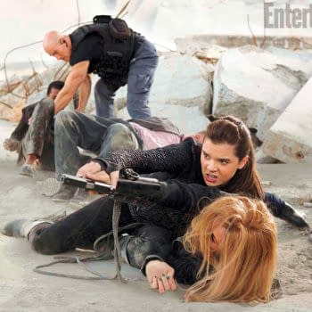 Two Images From Teenage Assassin Action Comedy Barely Lethal Starring Hailee Steinfeld And Samuel L. Jackson
