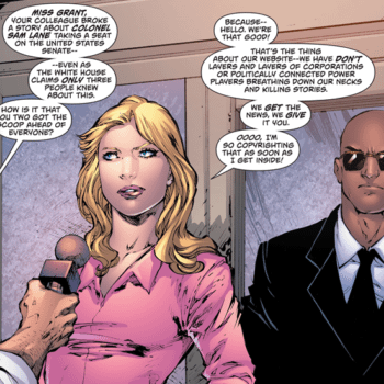Is Cat Grant Talking About DC Comics Here?