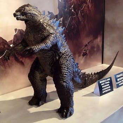 Godzilla Model Shows Off His Full Form Drops Atomic Breath Clues