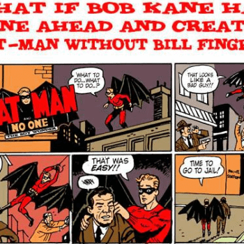 Ty Templeton Shows Us Bob Kane's Batman… But What About Frank D. Fosters?