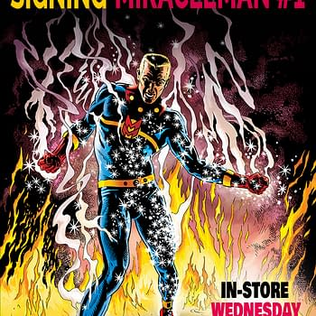 Live Blogging The Garry Leach Miracleman #1 Signing