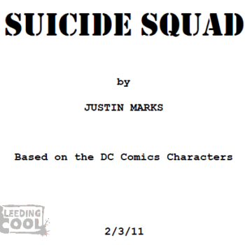First Look At The Screenplay For Suicide Squad – How Close Is It To The Comic?