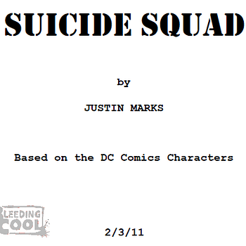 First Look At The Screenplay For Suicide Squad &#8211 How Close Is It To The Comic