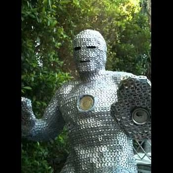 The Fan Stan The Man An Iron Man Made From Cans And The Falling Apart Plan