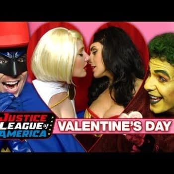 A Super Sexy Justice League Valentine's Day – The Nerdist Is At It Again