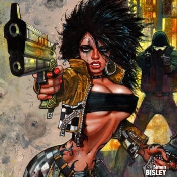 Simon Bisley's New 13 Coins Comic Goes Digital Today – Exclusive First Look At Cover
