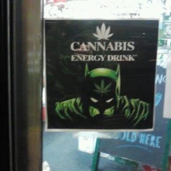And Finally… The Not-Legitimately Licensed Batman Cannabis Energy Drink