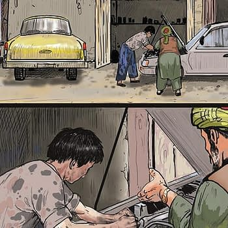Australian Government Uses Comic Books To Stop Asylum Seekers