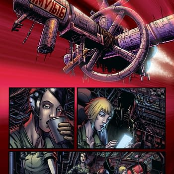Buckle Up For A First Look At Art From Garth Ennis Sci-Fi Horror Book Caliban
