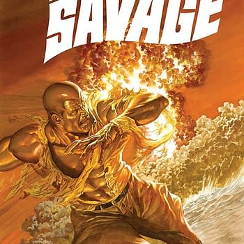Triple Feature &#8211 Extended Previews Of Doc Savage #3 Damsels #13 And Cryptozoic Man #4