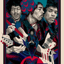 Jimi Hendrix Gets The Dark Hall Mansion Experience