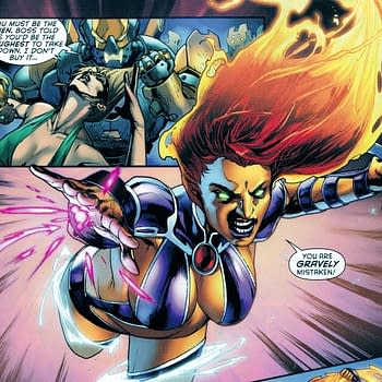 Bizarre Breasts: Starfire In Todays Red Hood And The Outlaws