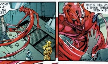 Forty-Five Thoughts About Forty-Five Comics &#8211 Justice League New Warriors Harley Quinn Quantum &#038 Woody Amazing X-Men Batwoman Animal Man Terminator BPRD Conan God Is Dead Extinction Parade GI Joe Daredevil Captain America Uncanny X-Men Avengers World Unity Bloodshot And The Hard Corps Curse Dawn Of The Jedi White Suits Strain Vader DHP Skyman Bad Ass Kings Watch Voice In The Dark Midas Flesh Adventure Time Robocop Loki Joyners 3D Morning Glories Alex + Ada Peter Panzerfaust Undertow Savage Dragon Khan Jericho Godzilla Real American Hero Ben 10 and TMNT Conspiracy