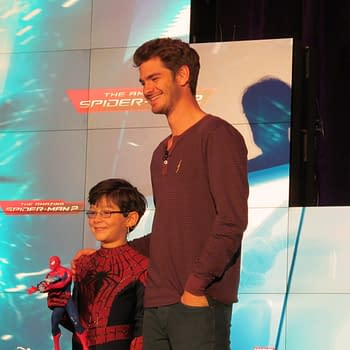 Disney Products At Toy Fair Spotlights Spider-Man 2 Guardians Of The Galaxy Star Wars: Rebels With Andrew Garfield and Freddie Prinze Jr.