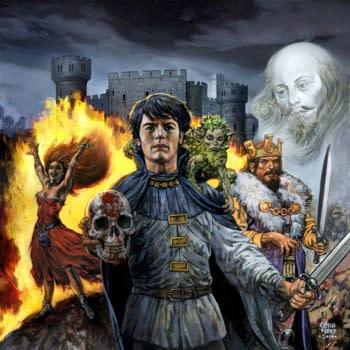 Glenn Fabry Paints The Kill Shakespeare Board Game