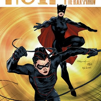 Mark Waid Talks With Victor Gischler About Teaming Up Miss Fury And the Black Sparrow For Noir