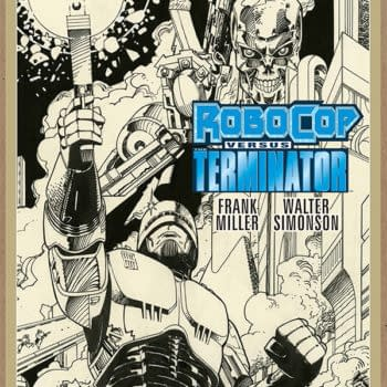 Frank Miller and Walt Simonson's Robocop Vs. Terminator Back In Print – And Launching Dark Horse's 'Artist's Edition' Line