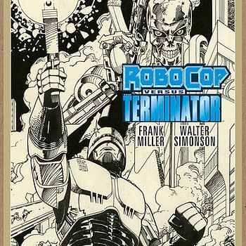 Frank Miller and Walt Simonsons Robocop Vs. Terminator Back In Print &#8211 And Launching Dark Horses Artists Edition Line