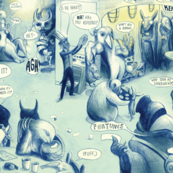 Spotlight On ComiXology Submit – Zootrope, The Reservoir, Los Muertos