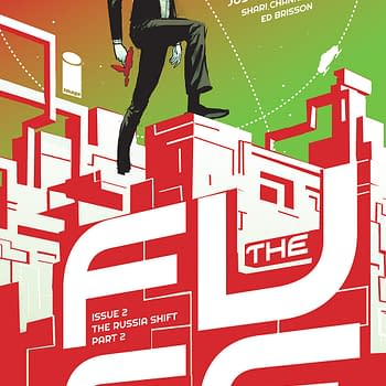 Image Reveals Riley Rossmo Variant Cover For The Fuse #2