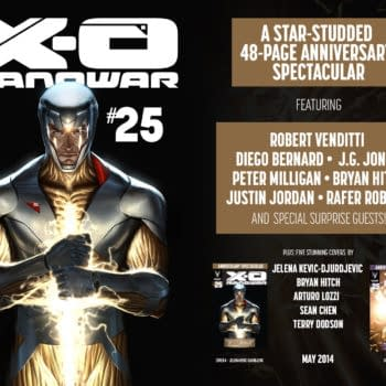 X-O Manowar #25 To Be A 48-Page Star-Studded Spectactular With Hitch, Jones, Milligan And More…