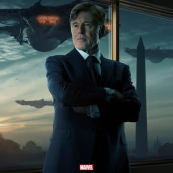 Robert Redford Gets His Own Captain America: The Winter Soldier Poster
