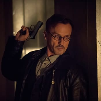First Look At Robert Knepper As the Clock King On Arrow