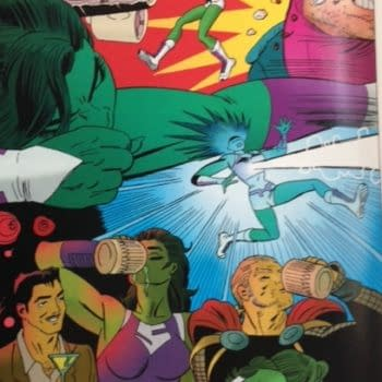Live From The Comic Shop – She-Hulk, The Mercenary Sea, Gravel: Combat Magician, The Bunker, Moriarty Lives