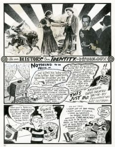 Compulsive Narratives Graphic Novel Exhibit Features Original Drawings By Justin Green Peter Kuper Derf Backderf