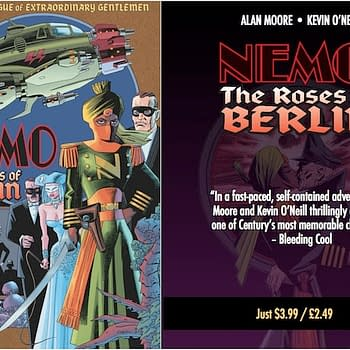 League Of Extraordinary Gentlemen: Roses Of Berlin Out Early Today On Digital