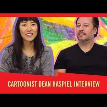 It's A Draw With Natalie Kim – Featuring The Fox's Dean Haspiel