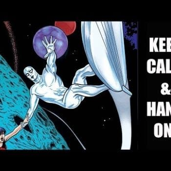 A Comic Show – Silver Surfer Says, 'Keep Calm & Hang On'!