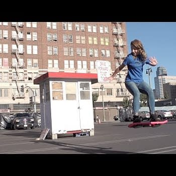 Christopher Lloyd And Others Test Out Real Hoverboards In Viral Video [UPDATE: Funny Or Die Is Behind This]