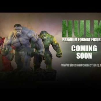 Sneak Peek At Hulk Premium Format Figures From Sideshow Collectibles – Red, Green And Gray