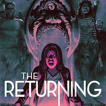 Frazer Irving Tells A Story With The Covers Of The Returning
