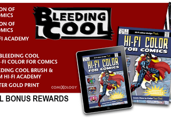 Marvel Issues Takedown Notice Over Hi Fi Color Kickstarter – IT'S BACK, BABY (UPDATE)