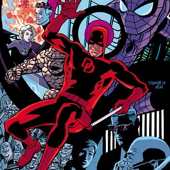 Preview Of Daredevil 50th Anniversary Issue By Waid Bendis Maleev And More&#8230