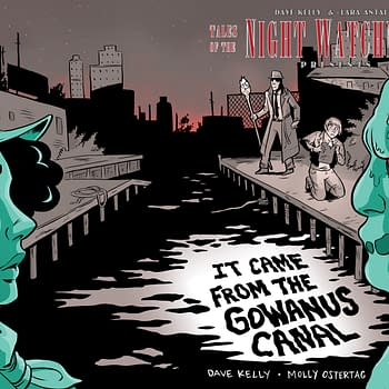 MoCCA Fest Previews: It Came From The Gowanus Canal And Invisible Wounds From So What Press