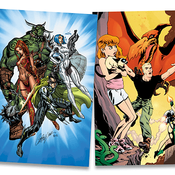J. Scott Campbell Mike Norton And Other Creators Contribute Art To Colorful Kickstarter