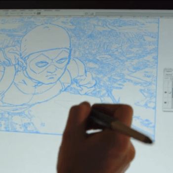Frank Quitely, The Documentary Airs Tomorrow Night On The BBC. Trailer And Screencaps…