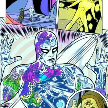 Cosmic Tones For Mental Therapy: Slott And Allred's Neo-Classical Silver Surfer Will Blow Your Mind