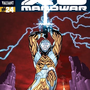 Prelude To Armor Hunters – First Look At X-O Manowar #24