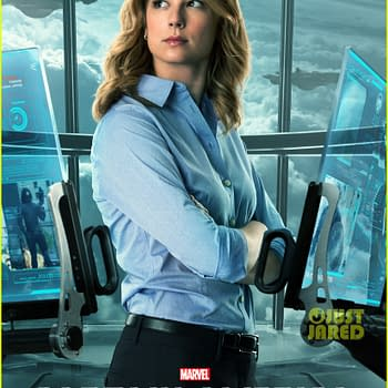 Agent 13 AKA Sharon Carter Gets A Captain America: The Winter Soldier Poster