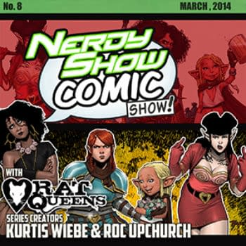 The Nerdy Show Goes RPG Questing With Kurtis Wiebe And Roc Upchurch Of The Rat Queens