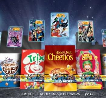 DC Comics Return To The Cereal Aisle