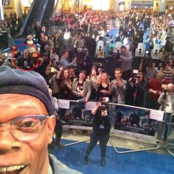 Lying In The Gutters – 24th March 2014 – Standing Just Above Samuel Jackson's Hat